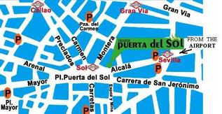 English gay hotel madrid gay hotel reservations gay for Puerta del sol madrid mapa